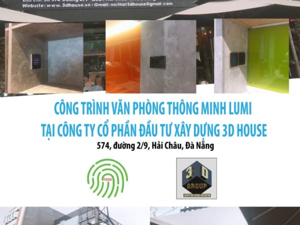 Văn phòng thông minh của công ty kiến trúc -xây dựng 3DHouse -574 đường 2/9, Đà Nẵng