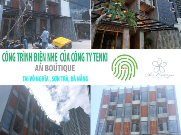 Công trình điên nhẹ Khách sạn An Boutique tại Võ Nghĩa Đà Nẵng