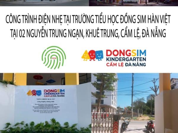 Công trình điện nhẹ - Camera tại trường mầm non Đồng Sim-02 Nguyễn Trung Ngạn- Đà Nẵng
