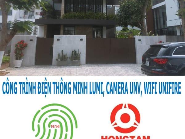Công trình biệt thự thông minh tại tư gia vận tải Hồng Tâm tại Euro village Đà Nẵng