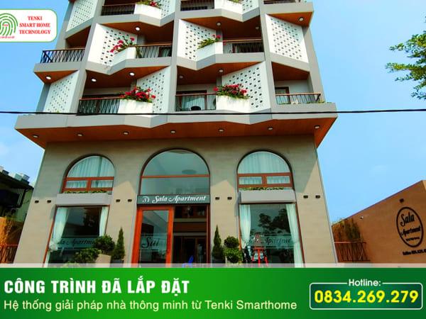 Công trình nhà thông minh lumi tại Đà Nẵng công ty lắp đặt nhà thông minh Tenki Smarthome